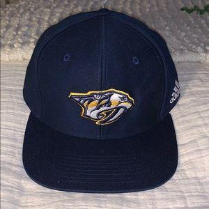 Nashville Predators adidas Snapback Adjustable Hat
